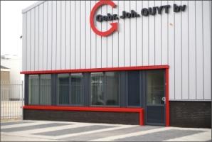 Kunststof kozijnen voor bedrijfshal in Katwijk