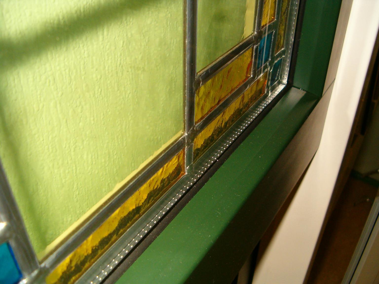 Vaak Zwetsloot Kozijnen Fabriek: Glas in lood tussen het dubbel glas. HB73